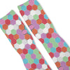 Hexagon Haze Custom Athletic Fresh Socks