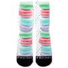 I Love Macaroons Custom Athletic Fresh Socks