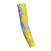 Kaboom Blue Yellow  Shooting Arm Sleeve
