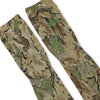 Leafy Camouflage Green Custom Athletic Fresh Socks