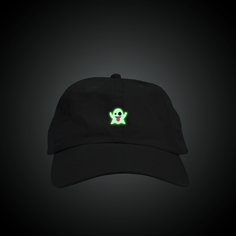 Glow in the Dark Ghost Dad Hat