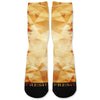 Orange Prism Custom Athletic Fresh Socks