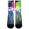Paint Spill Custom Athletic Fresh Socks