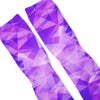 Purple Prism Custom Athletic Fresh Socks