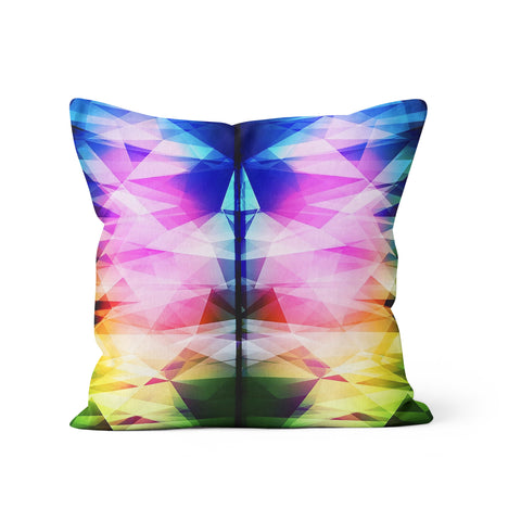 Rainbow Prism Pillow