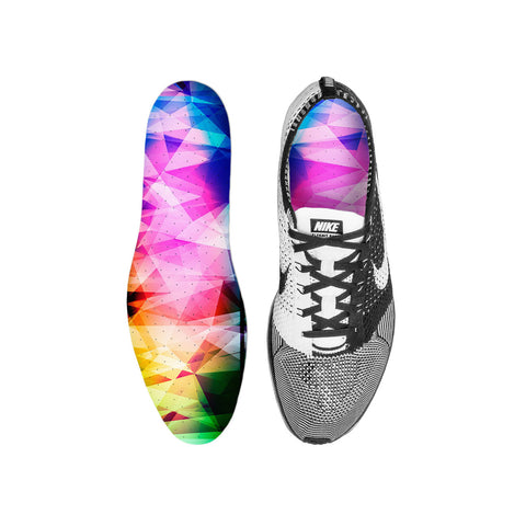 Rainbow Prism Custom Insoles