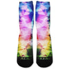 Rainbow Prism Custom Athletic Fresh Socks