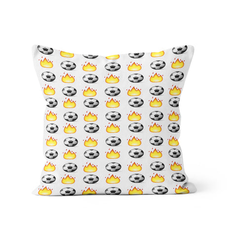 Soccer Emoji Pillow
