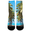 South Beach Custom Athletic Fresh Socks