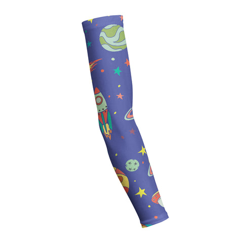 Space Galaxy Night  Shooting Arm Sleeve
