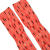 Summer Watermelon Custom Athletic Fresh Socks
