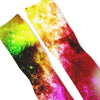 Toxic Galaxy Custom Athletic Fresh Socks