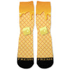 Waffle And Syrup Custom Athletic Fresh Socks