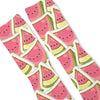 Watermelon Custom Athletic Fresh Socks