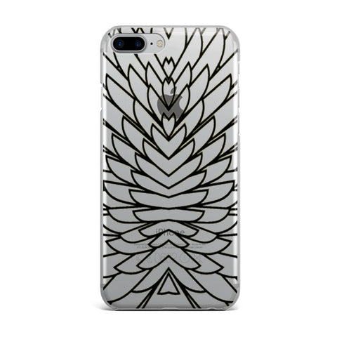 Black Wings iPhone Case