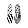 Combat Stars And Stripes Black White Custom Insoles