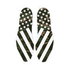 Combat Stars And Stripes Green Camo Custom Insoles