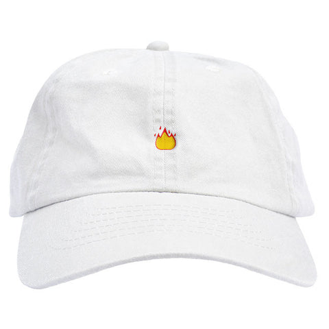 1f33980c7b4 Fire Emoji Dad Hat Fire Emoji Dad Hat ...