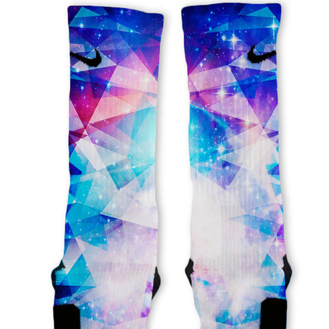 Galaxy Prism Custom Nike Elite Socks