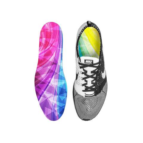 Glowing Prism Custom Insoles
