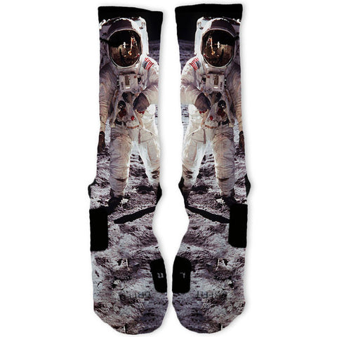 Moon Man Customized Nike Elite Socks