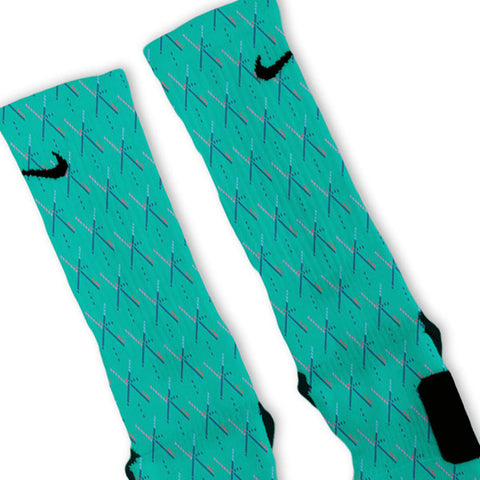 PDX Carpet Nike Elite Custom Socks