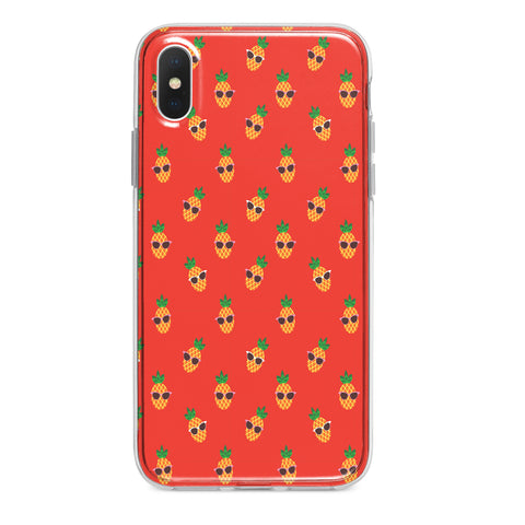 PINEAPPLE SHADES CUSTOM IPHONE CASE