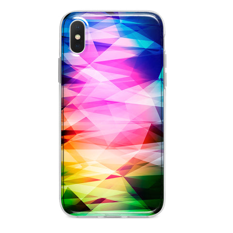 RAINBOW PRISM CUSTOM IPHONE CASE