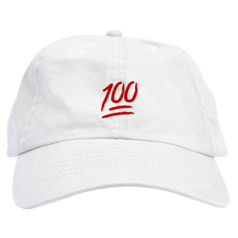 Red Keep It 100 Dad Hat