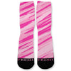Savage Pink Custom Athletic Fresh Socks