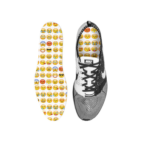Smiley Emoji Custom Insoles