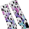 Tie Dye Panda Custom Nike Elite Socks