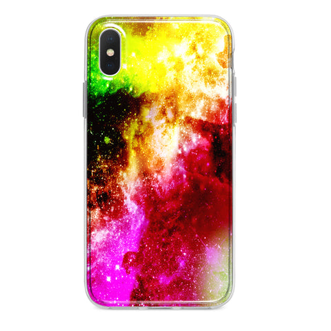 TOXIC GALAXY CUSTOM IPHONE CASE