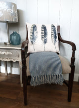 Load image into Gallery viewer, Restored & Re-upholstered Sprung Mahogany Arm Chair