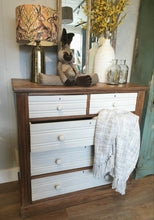 Load image into Gallery viewer, Distressed Satinwood Chest of Drawers