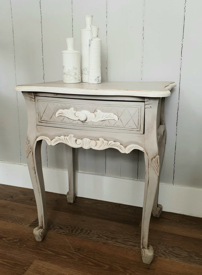 Mahogany Painted Bedside draw.