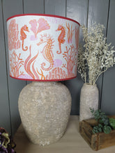 Load image into Gallery viewer, Seahorse coral - Lampshade