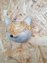 Load image into Gallery viewer, Ceramic Mini Animal Wall Plaque