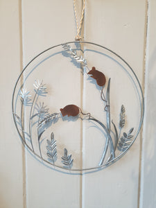 Harvest Mice Wreath