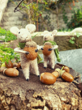 Load image into Gallery viewer, Woodland Mouse with Acorn
