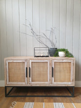 Load image into Gallery viewer, Contemporary Rattan Fronted Sideboard
