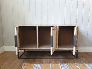 Contemporary Rattan Fronted Sideboard