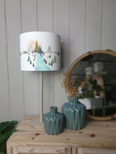 Load image into Gallery viewer, Scandinavian landscape - Lampshade