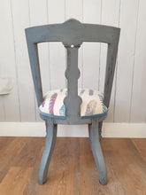 Load image into Gallery viewer, Victorian Painted and Re-Upholstered Chair