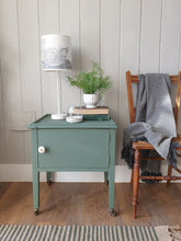 Load image into Gallery viewer, Painted Sage Green Low Cupboard