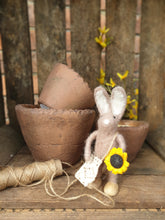 Load image into Gallery viewer, Easter Bunny with Carrot or Sunflower