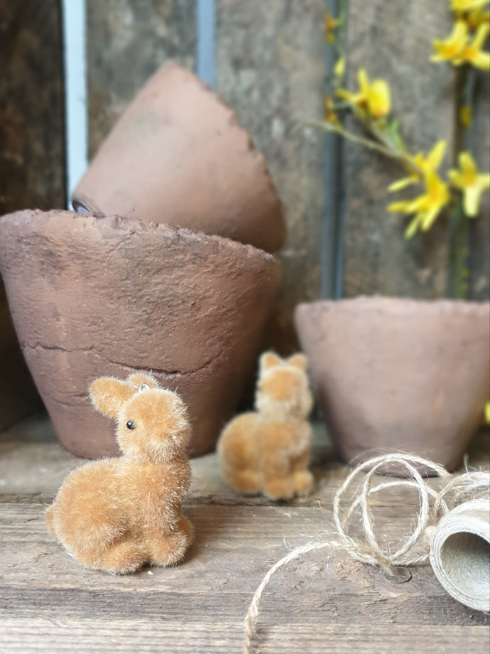 Little Brown Rabbit - Hanging Decoration