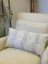 Load image into Gallery viewer, Block Printed Geometric Patterned Cushion