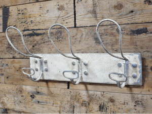 Vintage industrial stlye coat hook.