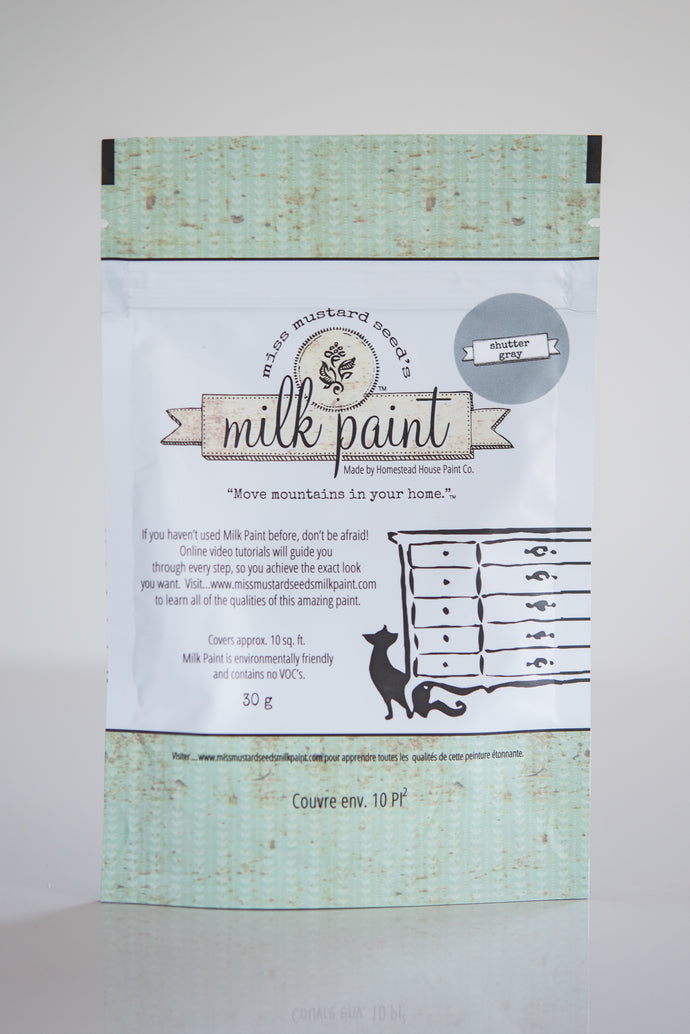 Miss Mustard Seed's Milk Paint - Shutter Gray